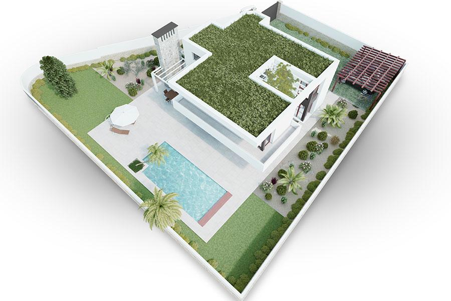 Villa Moraira opta al certificado Breeam® y Passivhaus