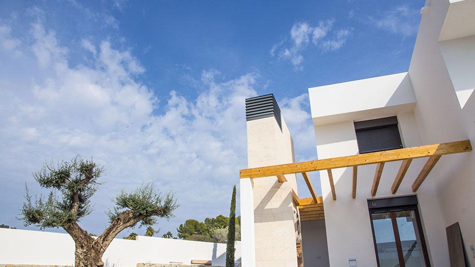 La casa del futuro se construye en Moraira