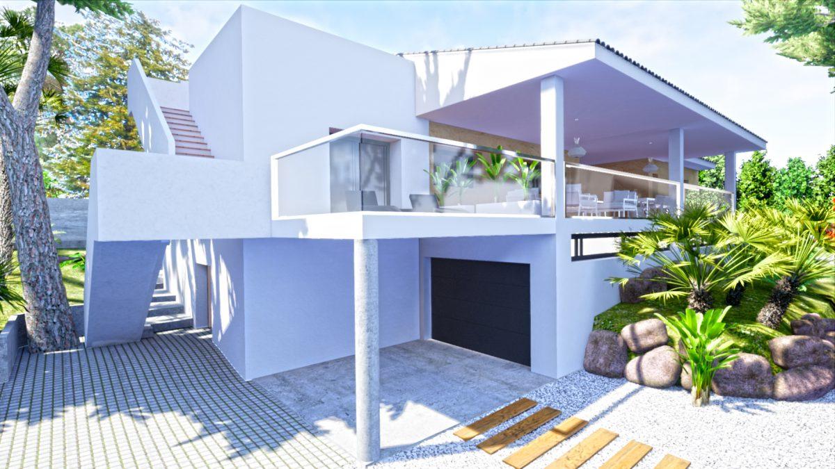 Proyecto de rehabilitación PassivHaus 3D