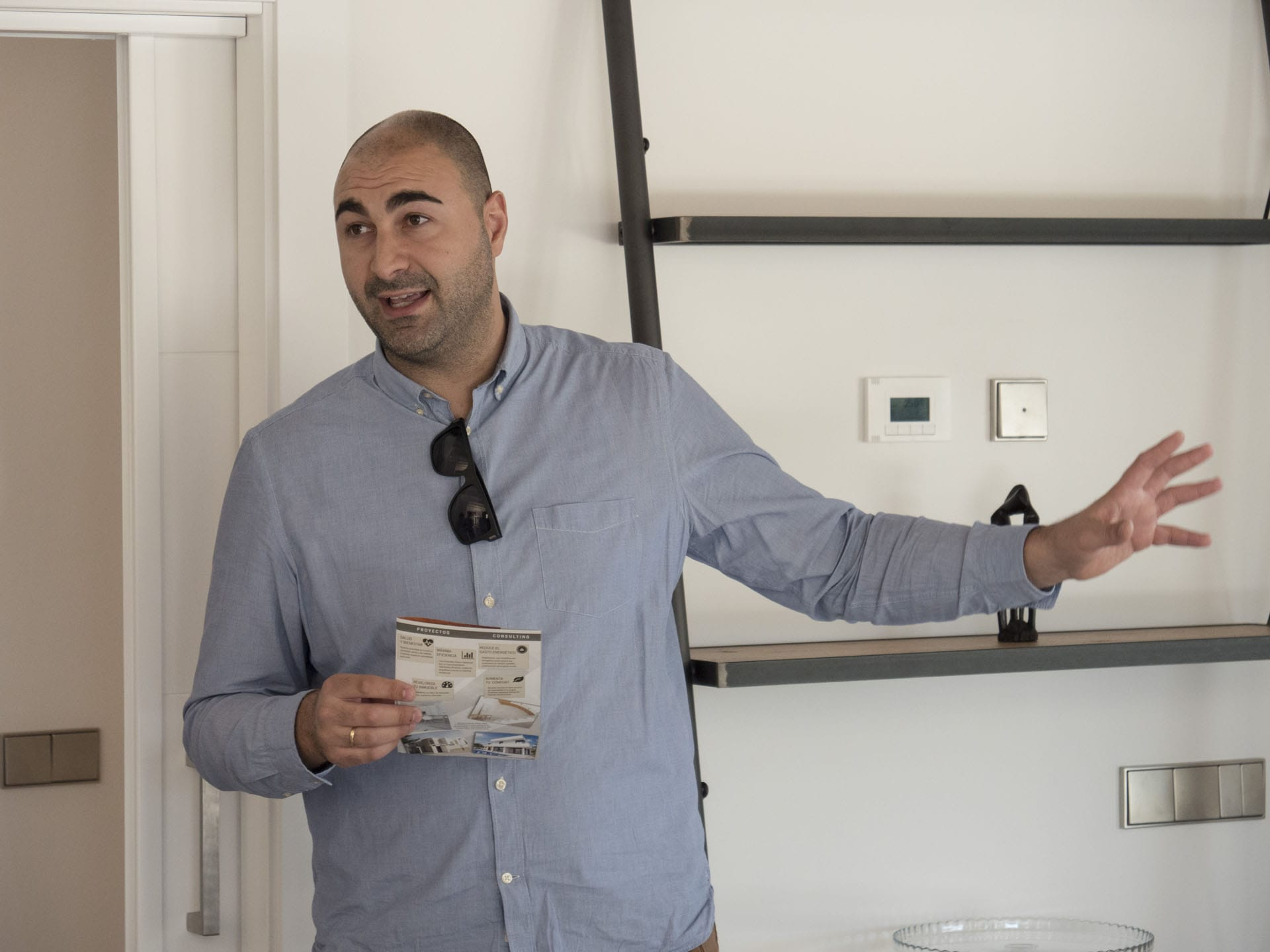 Nuestro arquitecto Juan Díez, Passivhaus Designer